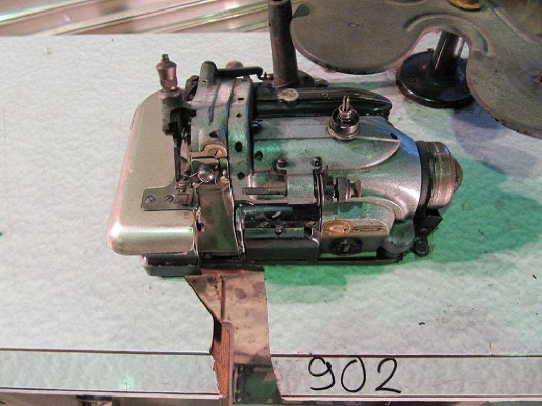 singer 246k45 2 faden industrie overlock nähmaschine  ~ Nähmaschine Industrie Gebraucht