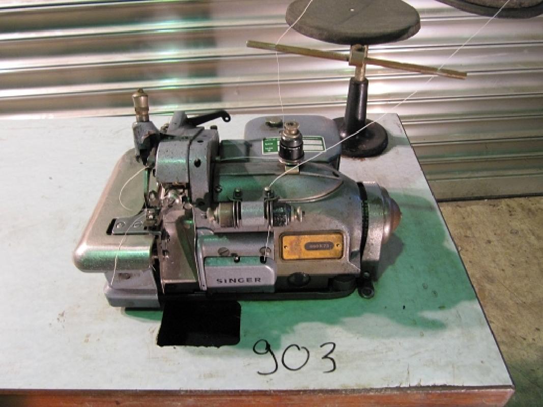 singer 460 k 73 2 faden industrie overlock nähmaschine  ~ Nähmaschine Industrie Gebraucht