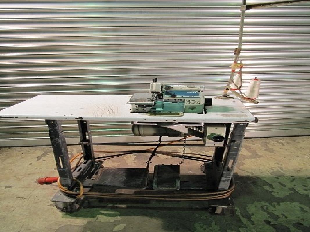 singer 831u0056 high speed industrie overlock  ~ Nähmaschine Industrie Gebraucht
