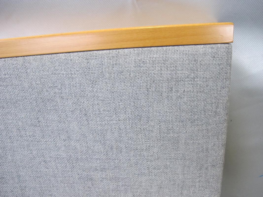 3 felder trennwand raumteiler akustikwand stellwand. Black Bedroom Furniture Sets. Home Design Ideas