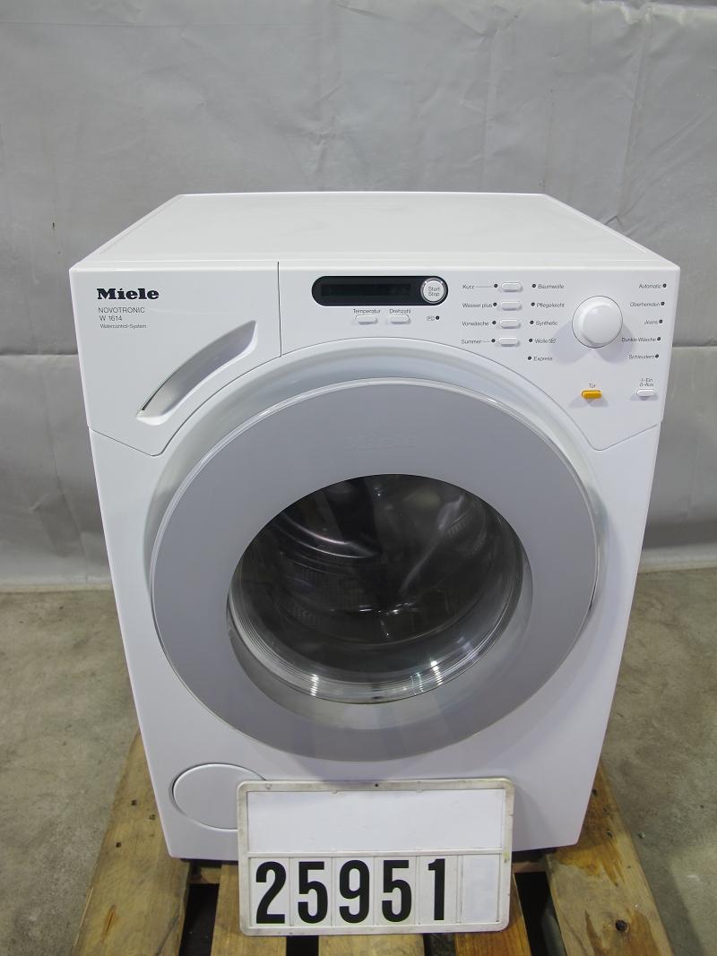 miele novotronic w1614 waschmaschine 25951 ebay. Black Bedroom Furniture Sets. Home Design Ideas
