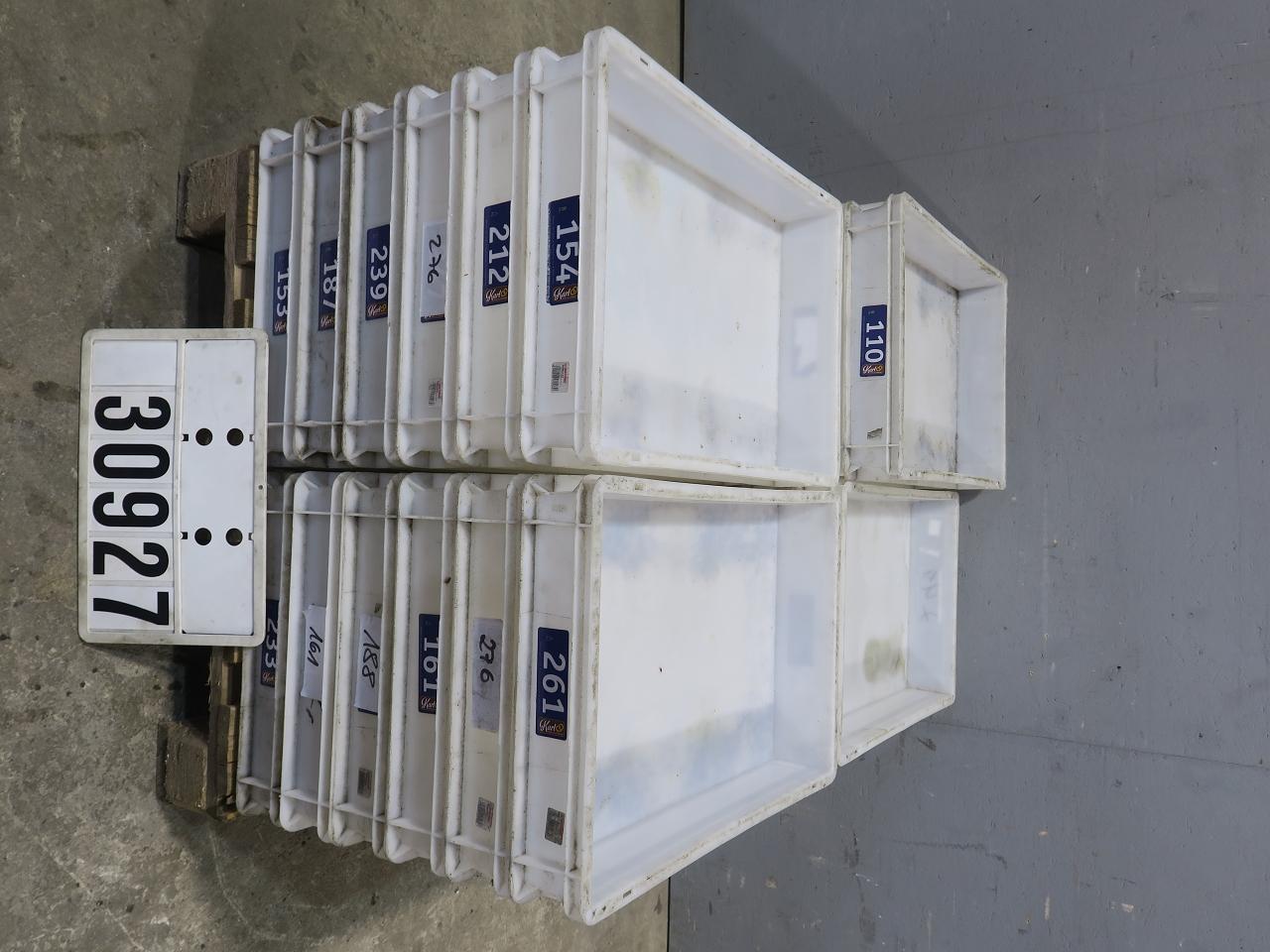 Kippdielen aus Kunststoff 10 Stück